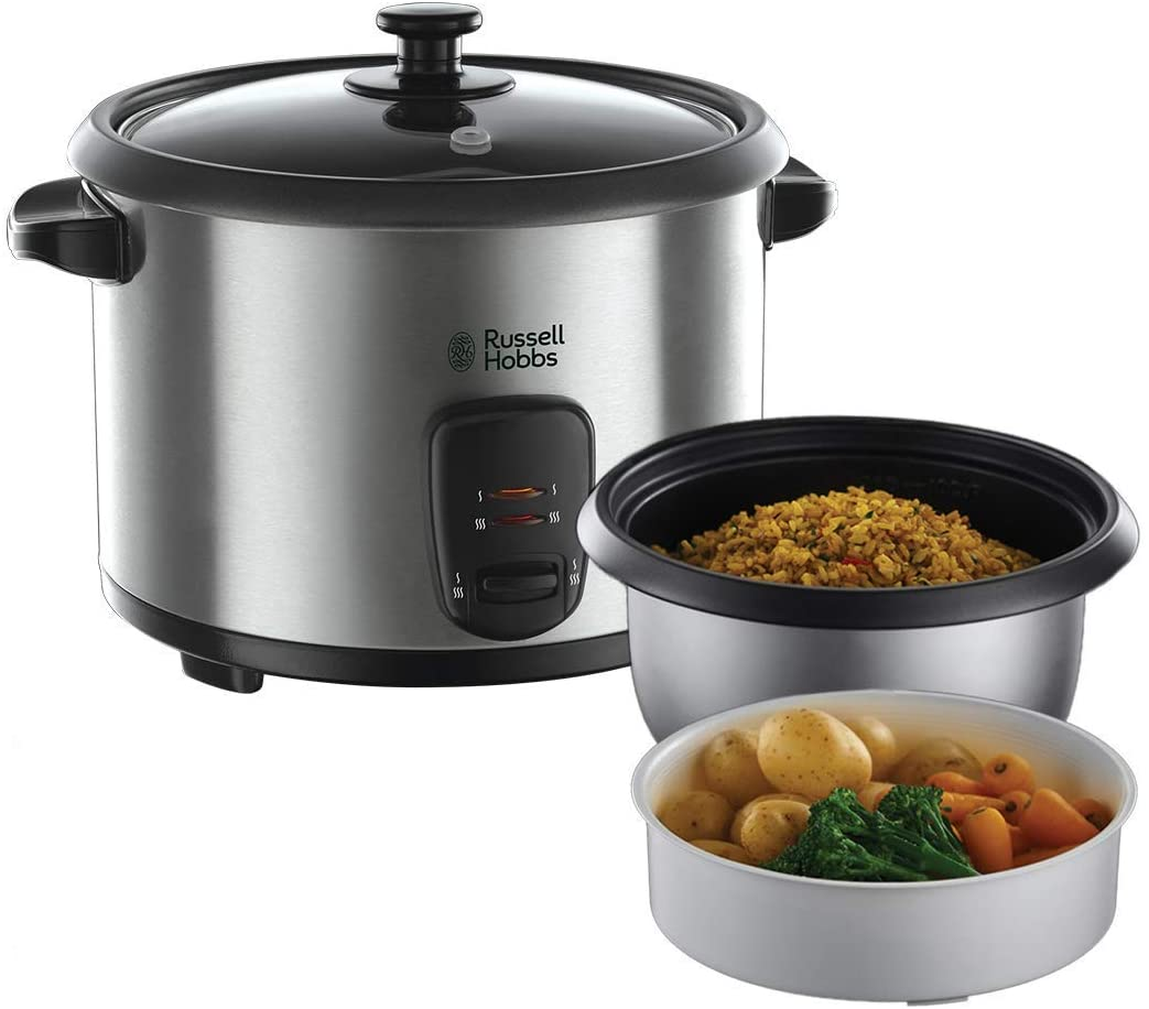 Mejores vaporeras electricas Russell Hobbs Cook@Home 19750-56