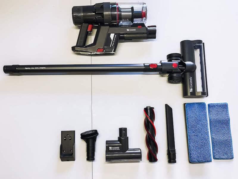 aspirador Proscenic P11 componentes