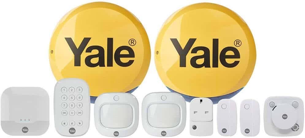 Mejores alarmas para casa Yale IA-340