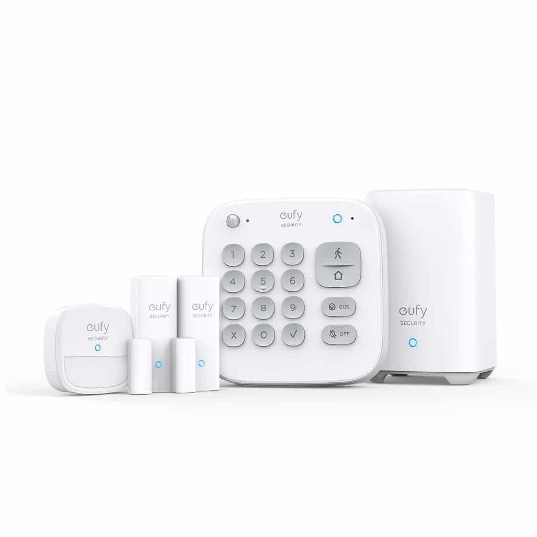 Mejores alarmas para casa eufy Security 5 piezas