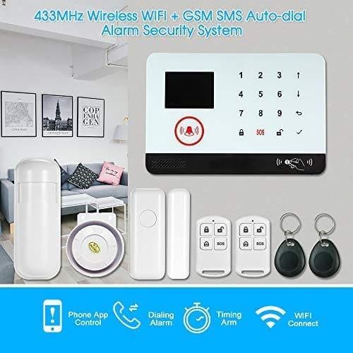 Mejores alarmas para casa - más barata OWSOO