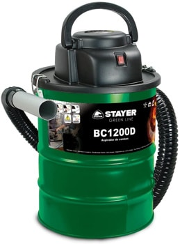 Mejores aspiradoras de cenizas Stayer 1200D