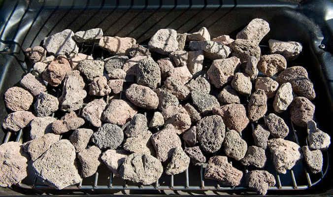 Mejores barbacoas de gas piedras de lava