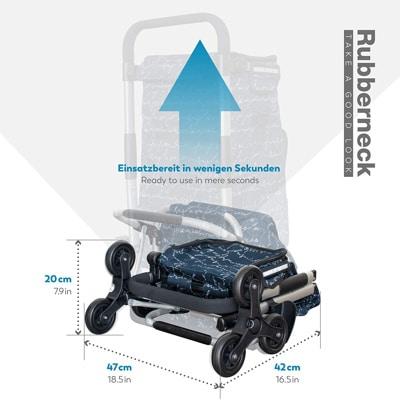 Mejores carritos de la compra plegado Rubberneck 1