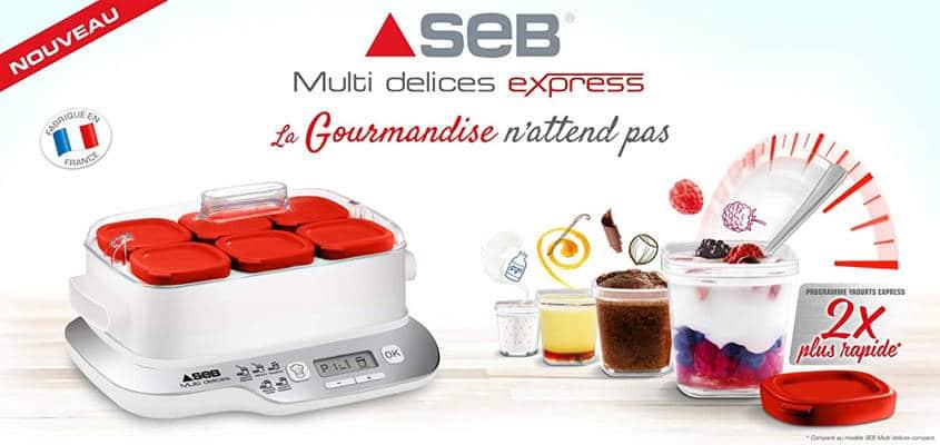 Mejores yogurteras electricas calidad precio Seb Compacte
