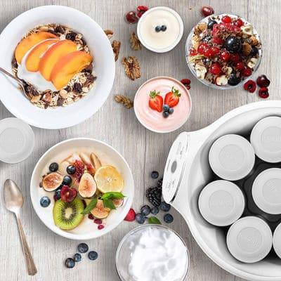 Mejores yogurteras eléctricas imagen destacada
