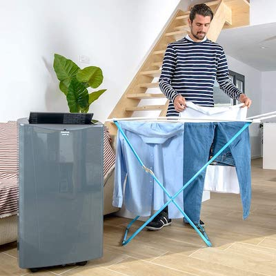 funcion secado ropa aire acondicionado portatil