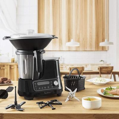 Mejores robots de cocina Moulinex ClickChef HF4SPR30 mejor calidad precio