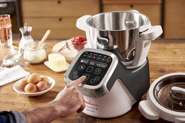 Mejores robots de cocina Moulinex Couisine Companion programas