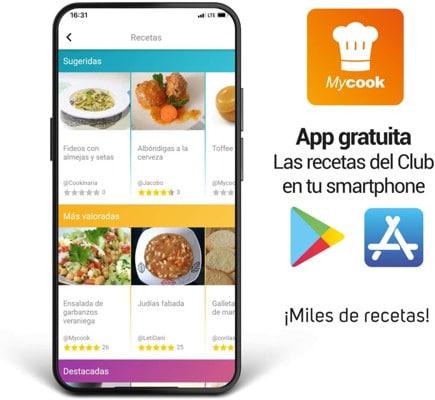 Robot de cocina Taurus Mycook Touch app3