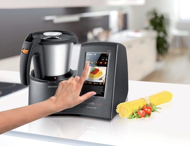 robot de cocina taurus tactil