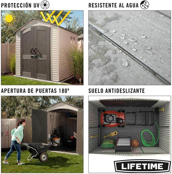 Mejor caseta de jardín Lifetime 60190