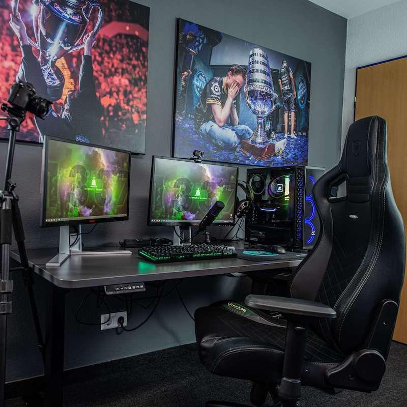 diseñar habitacion gaming