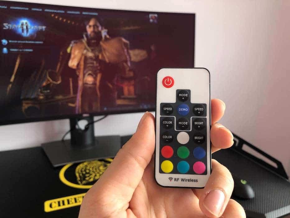 mando luces RGB