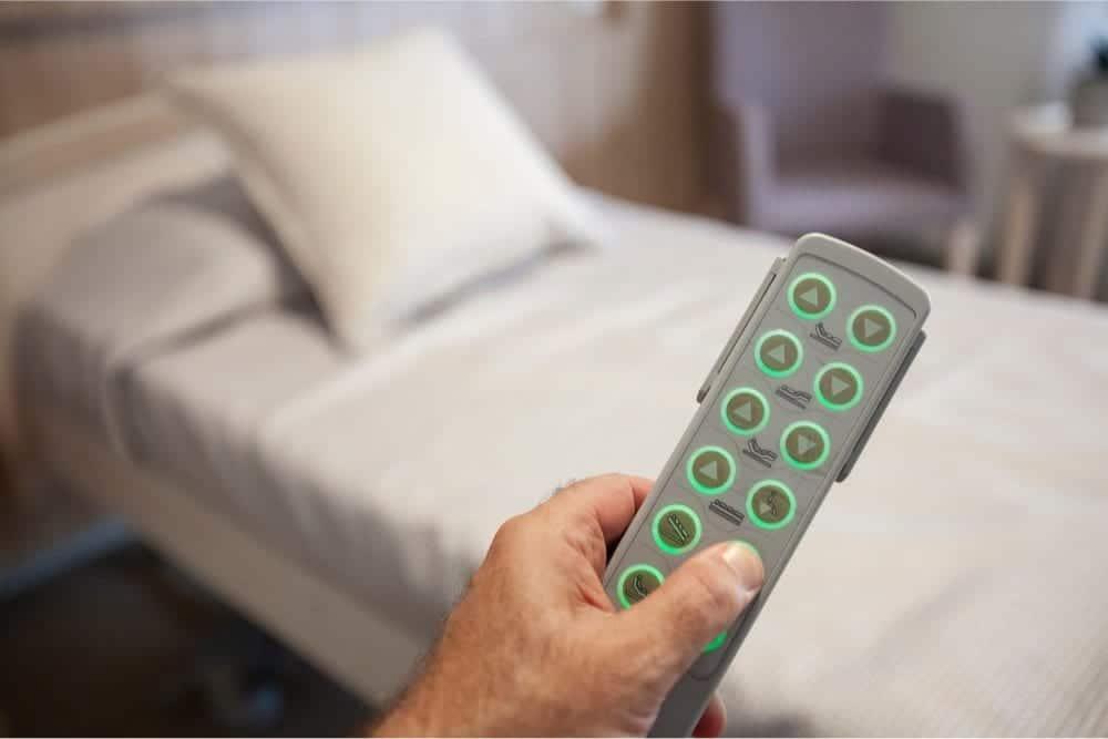 mando cama articulada