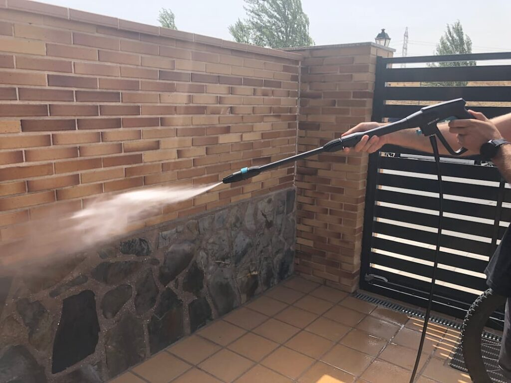 Modo abanico de la hidrolimpiadora 1600 cecotec