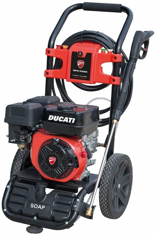 Vista general de la hidrolimpiadora de gasolina Ducati DPW3100G