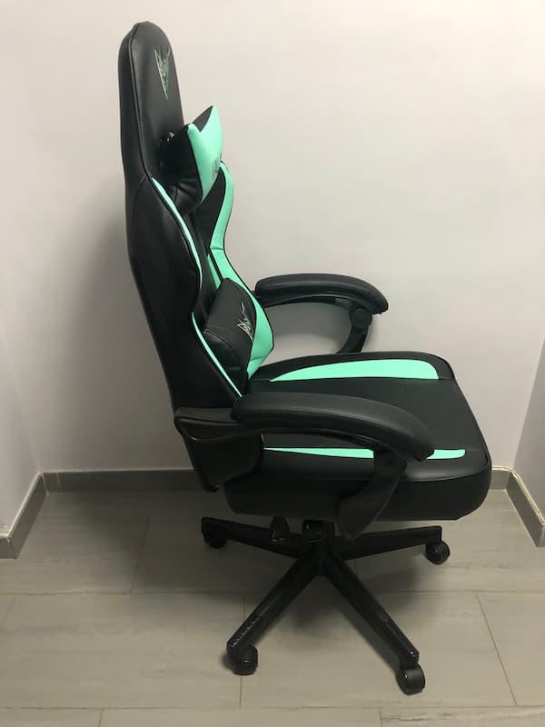 Lateral de la silla gamer VALK Eyra
