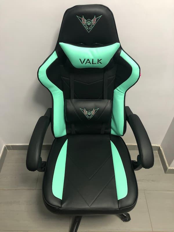 Vista principal de la silla de escritorio gamer VALK Eyra