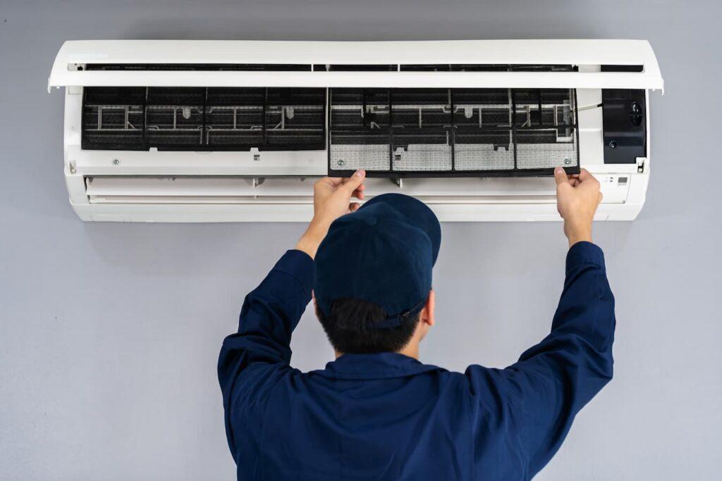 como instalar un aire acondicionado fijo