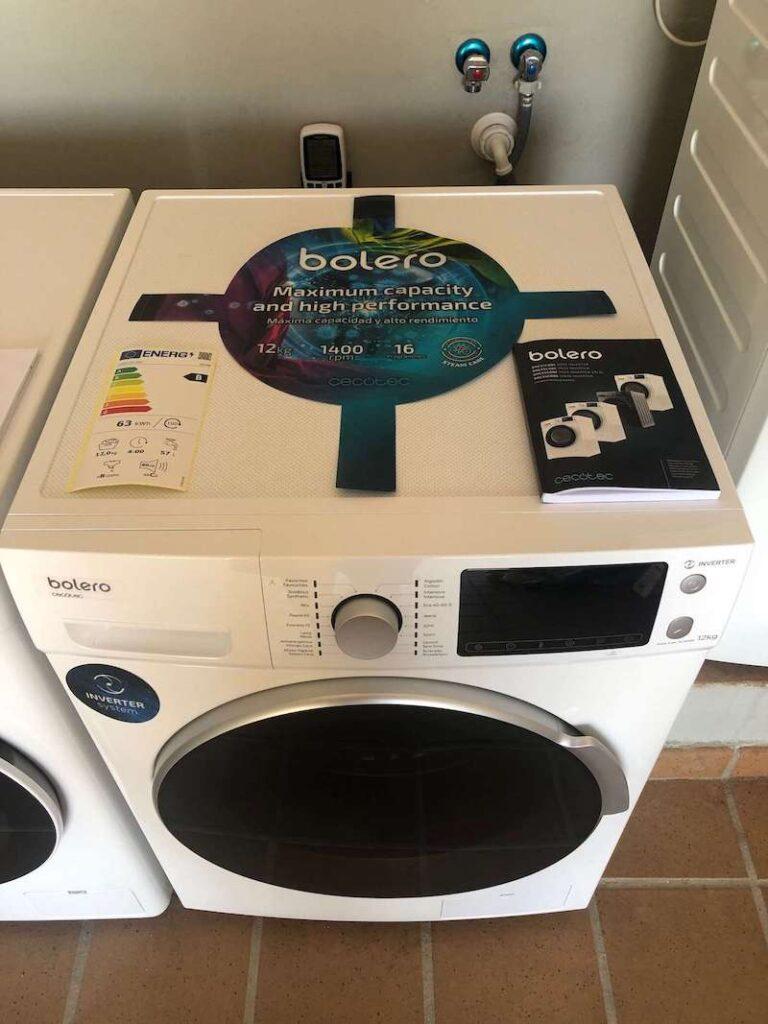Lavadora Cecotec Bolero
