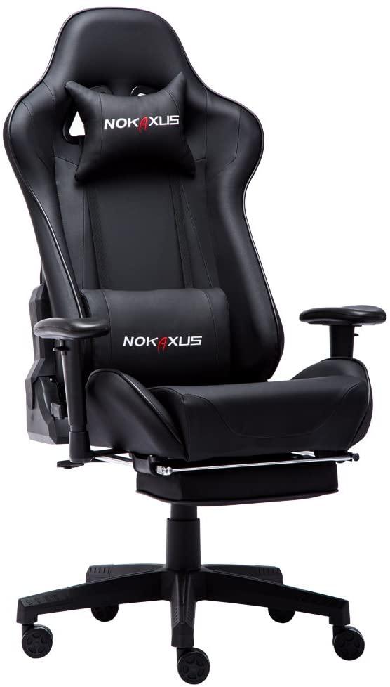 Vista principal de la silla gamer gaming NOKAXUS