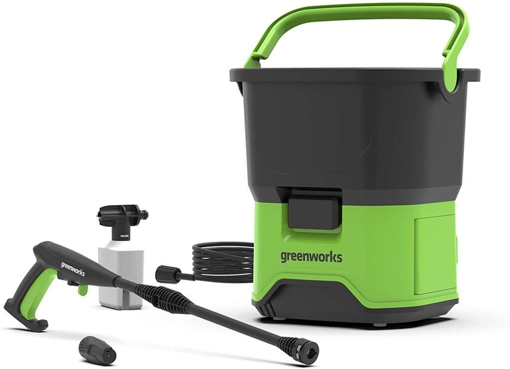 greenworks hidrolimpiadora portatil