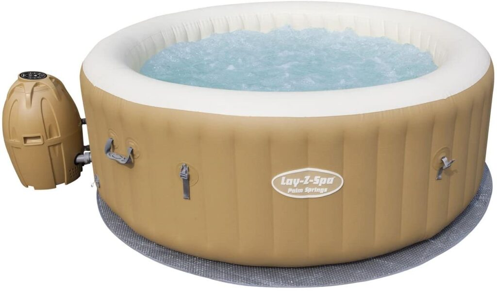 jacuzzi hinchable bestway palm spring