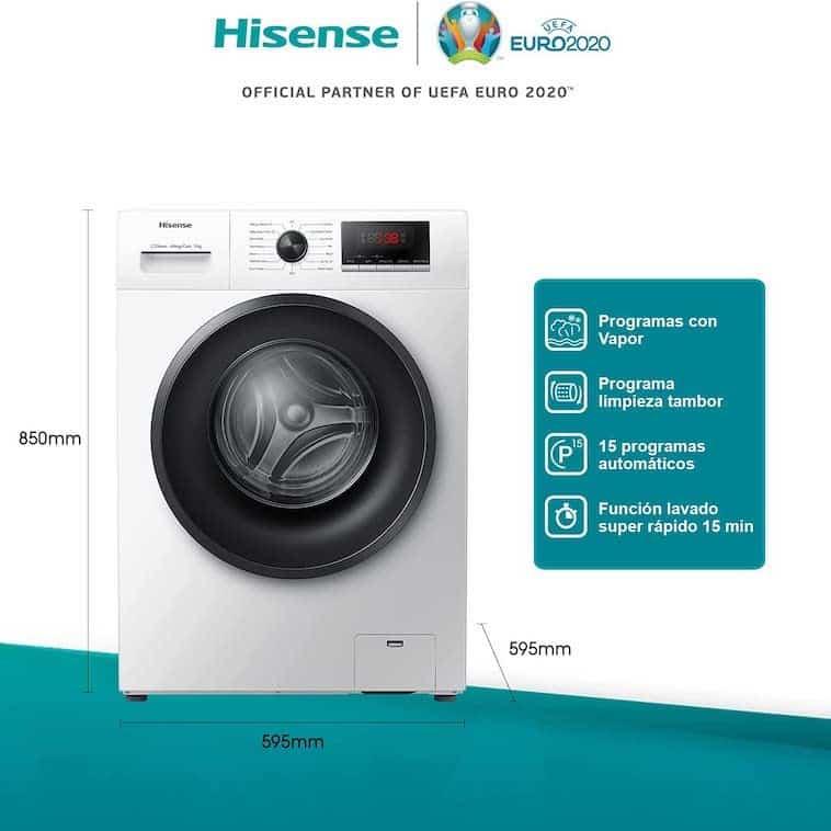lavadora Hisense 2