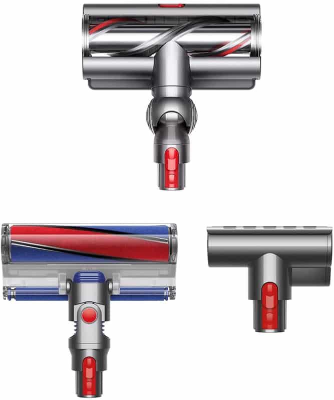 Cepillos aspirador escoba Dyson V11