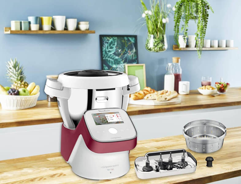 Robot de cocina para repostería - Moulinex I-Companion